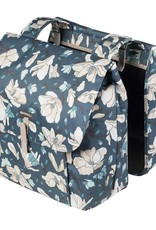 Basil, Magnolia Double Bag, Teal Blue