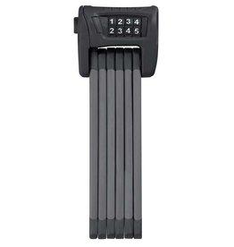 Abus, Bordo 6100, Folding lock with combination, 90cm (3'), Bracket, Black