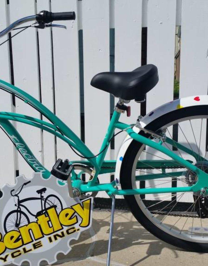 Electra Cruiser 7D Jade Custom Build Hearts