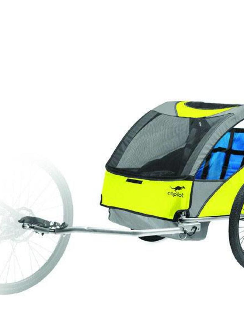Copilot Model A Bike Trailer 2 Children Yellow