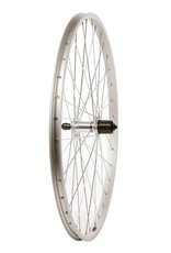 Wheel Shop, Rear 26'' Wheel Alex C1000 Silver / FH-RM30, 36 Steel spkes, QR axle, For 7sp. cassette