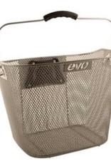 EVO, E-Carg QR Mesh Traveler, Basket, Silver