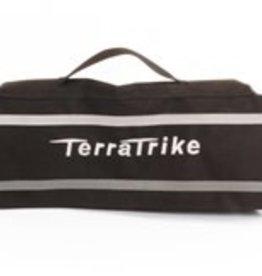 Terratrike Seat Back Bag Black with Silver Logo TT600134