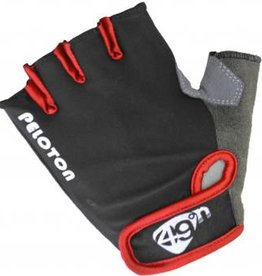 Peloton Child Glove BLK/RED M/L
