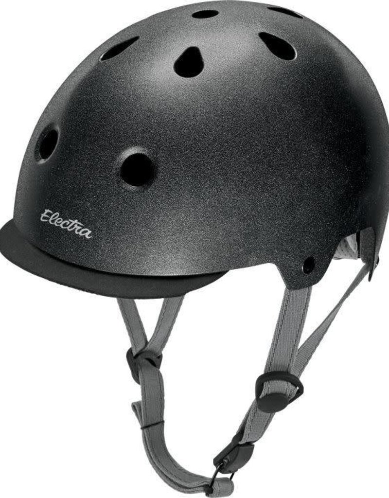 Helmet Electra Graphite Reflective Medium 55 - 58 cm