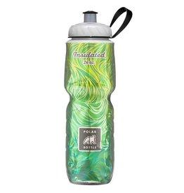 Water Bottle Polar 24oz Lemon Grass Green Yellow