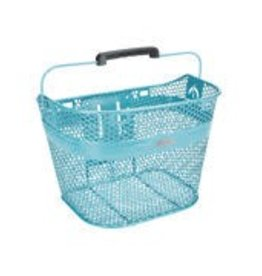 Basket Electra Linear QR Mesh Metallic Light Blue