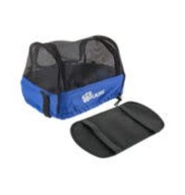 Basket Part BiKASE Dairyman Basket Pet Cover Mesh Black/Blue