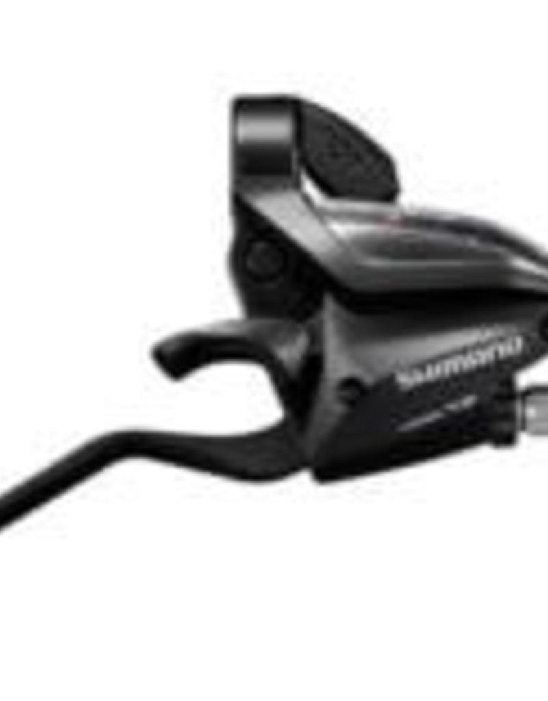 Shimano, ST-EF500, Shift/Brake lever combo, 3x8sp., Black
