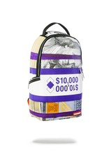 SprayGround SPRAYGROUND BACKPACK (B1577) PURPLE MONEY BANDS