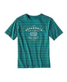 Boys' Striped GPIW Biner Cotton T-Shirt