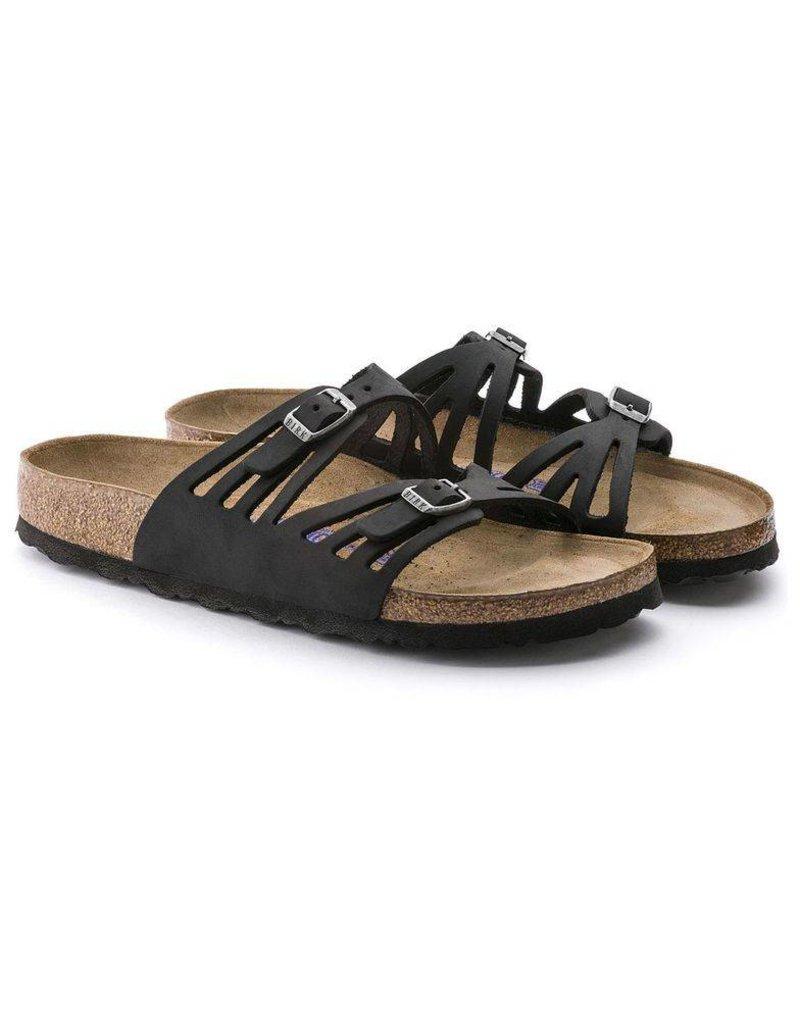 Birkenstock Granada Soft Footbed Oiled Leather Sandal