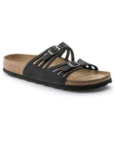 Granada Soft Footbed Oiled Leather Sandal