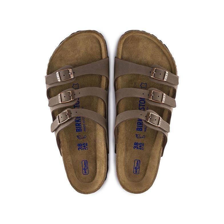 Birkenstock Florida Soft Footbed Birkibuc Sandal