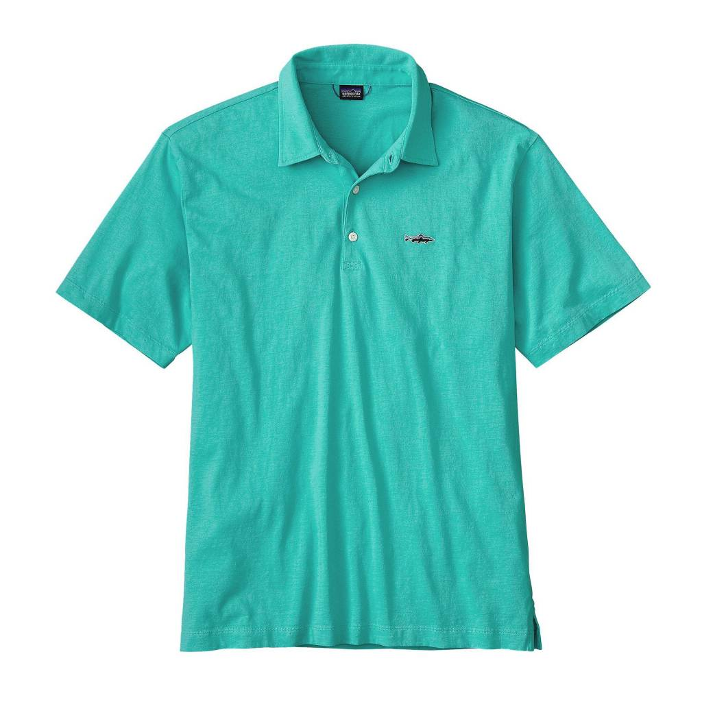 Patagonia Trout Fitz Roy Men's Polo