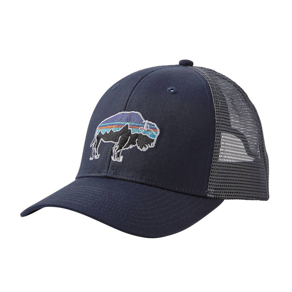 Patagonia fitz roy bison trucker hat uncle lems outfitters jpg 1024x1024  Bison animal hats e8c468d24d42