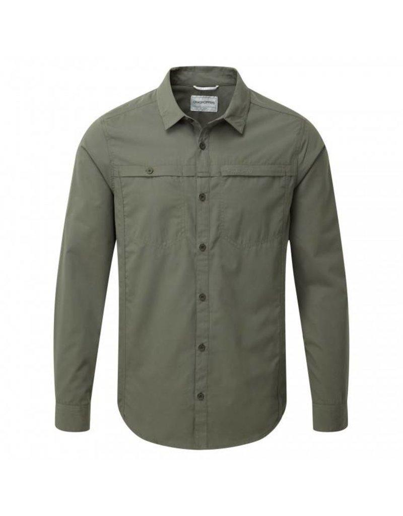 Craghoppers Men's Kiwi Trek Long Sleeve Shirt
