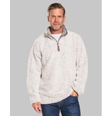 True Grit Frosty Tipped 1/4 Zip Pullover