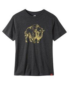 Men's Bison Illustration T-Shirt