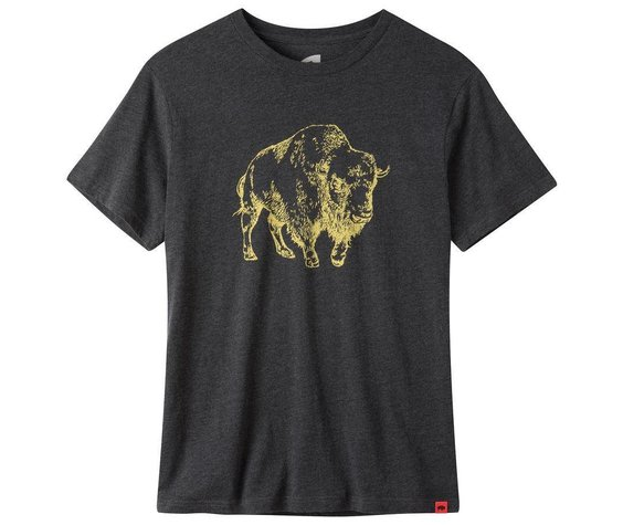 Mountain Khakis Men's Bison Illustration T-Shirt
