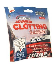 "QuikClot Advanced Clotting Gauze 3"" x 24"" (2 Pack)"