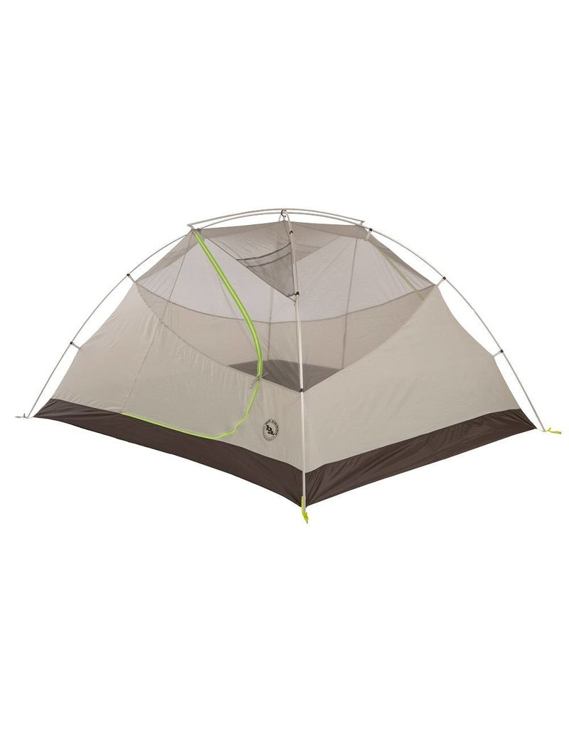 Big Agnes Blacktail 4 Package: Includes Tent and Footprint Gray/Green