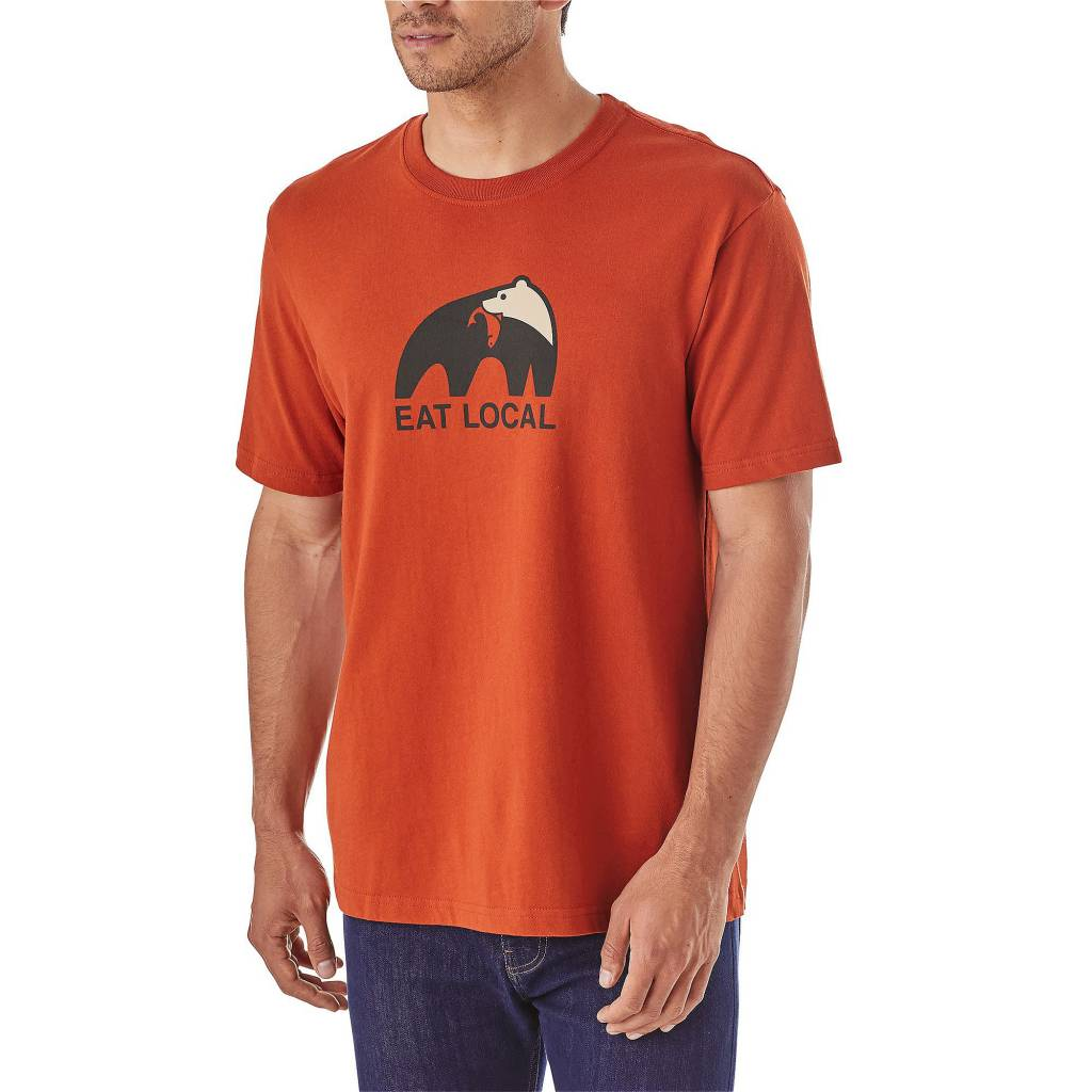 Patagonia Men's Eat Local Upstream Cotton T-Shirt