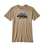 Patagonia Men's Fitz Roy Bear Cotton/Poly T-Shirt