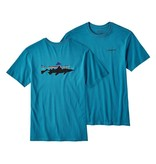 Patagonia Men's Fitz Roy Trout Cotton T-Shirt