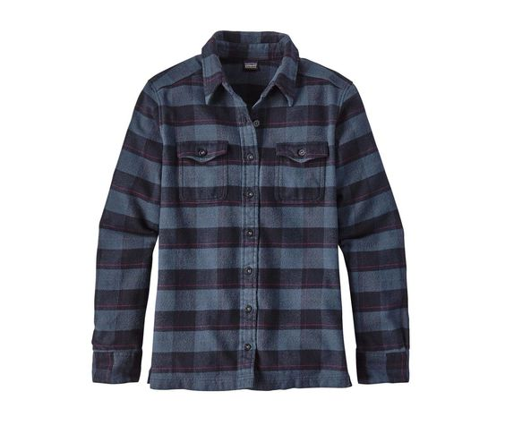 Patagonia Women's Long-Sleeved Fjord Flannel Shirt