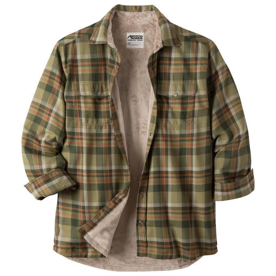 Mountain Khakis Men's Christopher Fleece Lined Shirt