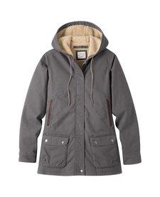 Women's Ranch Shearling Hooded Coat