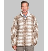 True Grit Big Plaid Frosty Tipped Pullover