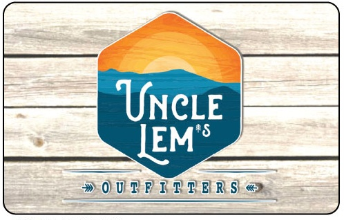 Uncle Lem's Gift Card $25