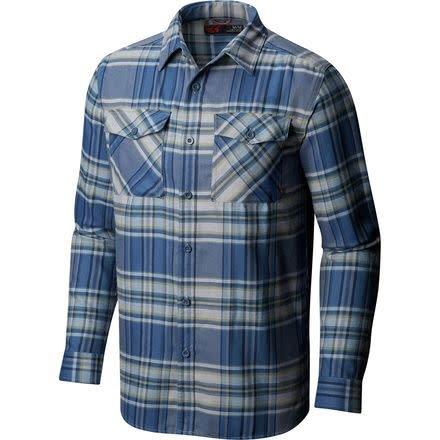 Mountain Hardwear Men's Trekkin Flannel Long Sleeve Shirt