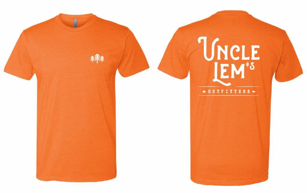 Uncle Lem's Three Trees Script T-Shirt Adult