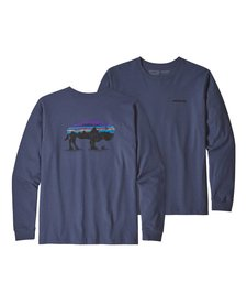 Men's Long-Sleeved Fitz Roy Bison Responsibili-Tee