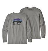 Patagonia Men's Long-Sleeved Fitz Roy Bison Responsibili-Tee