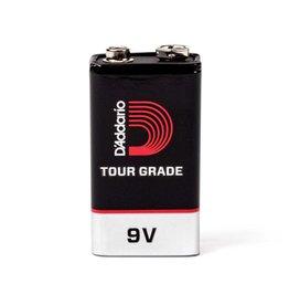 D'addario Tour-Grade 9V Battery 2 pack