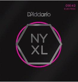 D'addario NYXL0942 Nickel Wound, Super Light, 09-42