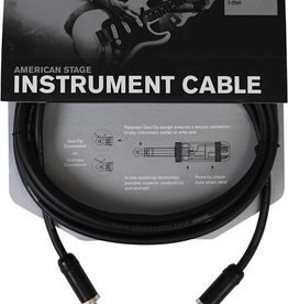 D'addario American Stage Instrument Cable, 10ft
