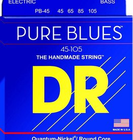 Dr Pure Blues PB-45 Bass Strings 45-105