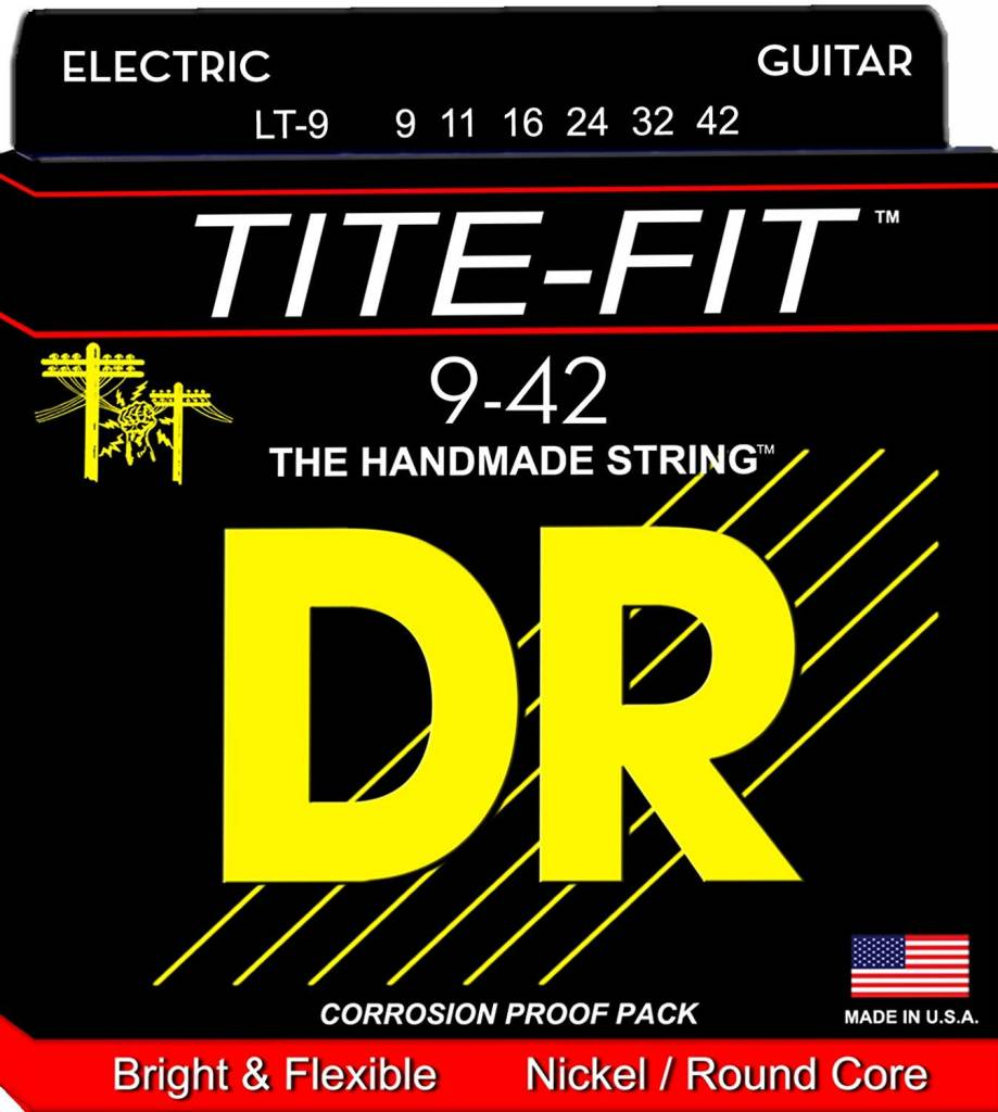 DR Tite-Fit LT-9 Guitar Strings 9-42