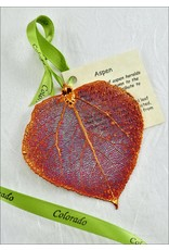 The Rose Lady Plain Iridescent Aspen Leaf