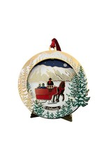 Whitney's Designs, Inc. Sleigh Ride 6th in Whitney's Designs Colorado Christmas Collection