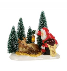 Department 56 Santa Comes to Town 2017