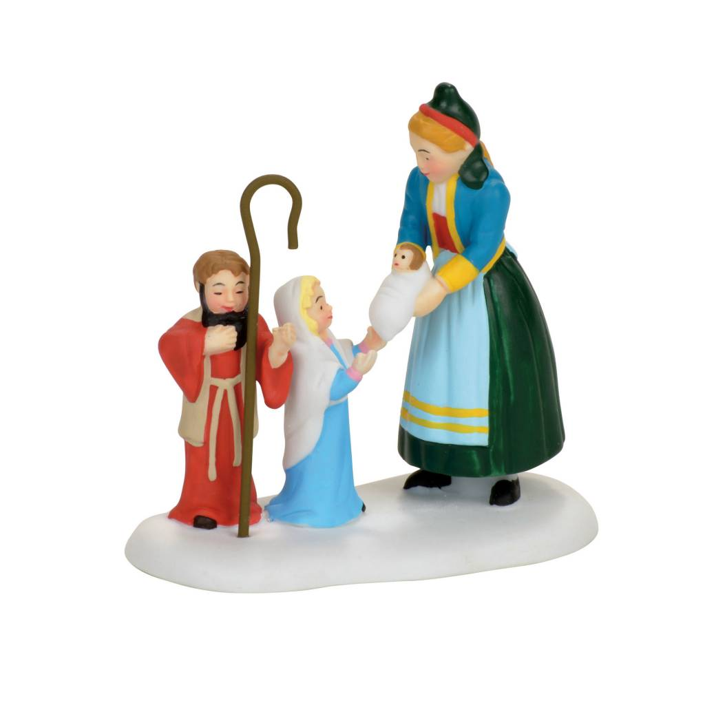 Department 56 The Children's Nativity