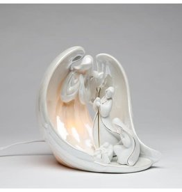 Appletree Angel Holy Family Night Light