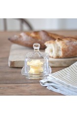 New Square Glass Butter Dish