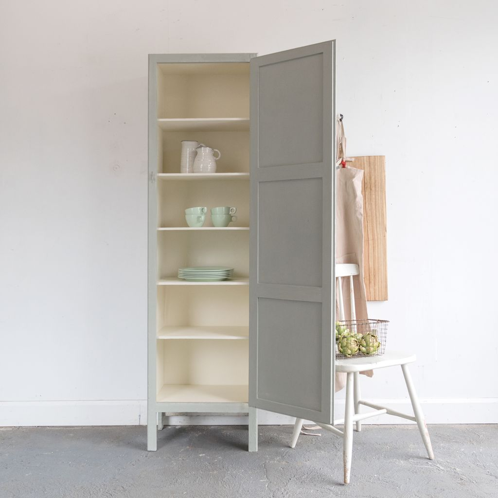Found Vintage Pantry Cabinet with Shelves
